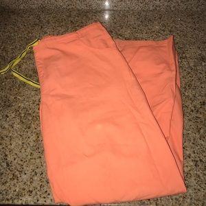 Pants - orange scrub pant
